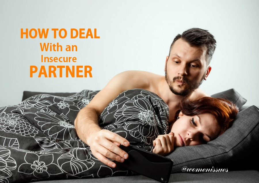 How to deal with an insecure partner